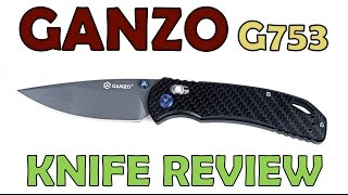 Review Ganzo G753 Check it out ED T   now called F753