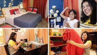 Bedroom Decor Tips | My Bed Sheets & Quilt Collection | Maitreyee's Passion