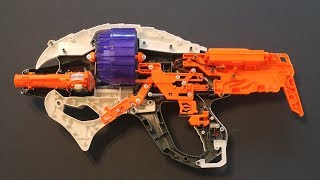 NERF Alien Menace Incisor Mod Guide Part 1: Locks and LiPos