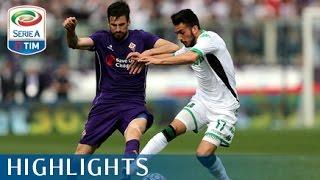 Fiorentina - Sassuolo 3-1 - Highlights - Matchday 33 - Serie A TIM 2015/16
