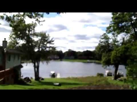 White Lake Front homes - Seven Harbors subdivision - Highland Township Michigan