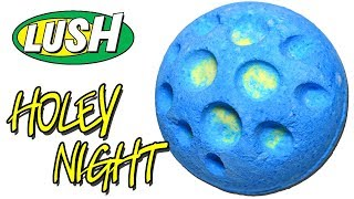 Lush HOLEY NIGHT Bath Bomb - Christmas  2018 DEMO & Review Underwater View
