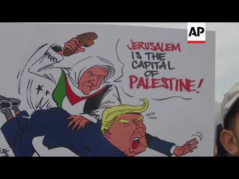 Thousands in Rabat protest against Trump's Jerusalem move