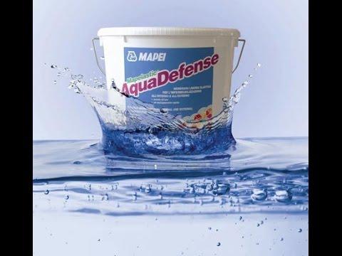 How To Use Mapei Aquadefense