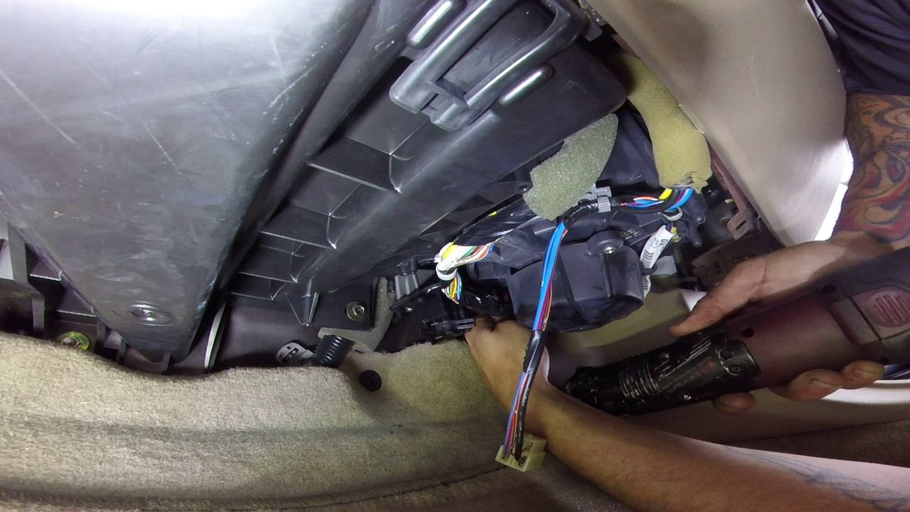 honda accord blower resistor a c compressor not working  [ 1280 x 720 Pixel ]