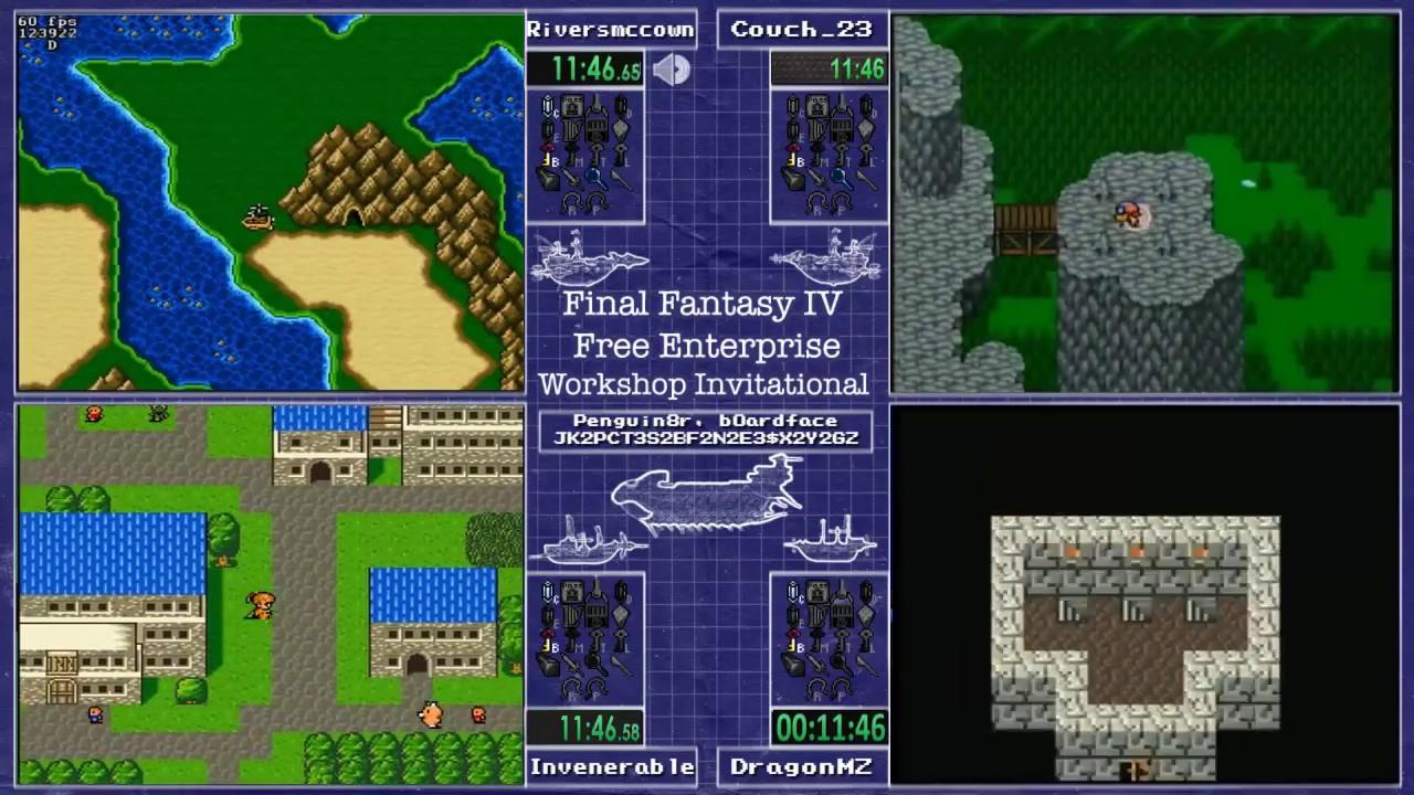 Final Fantasy IV Free Enterprise Workshop Invitational - YouTube