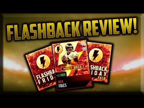 Flashback Nick Foles GAMEPLAY! 90 Overall Review - Madden Mobile 17