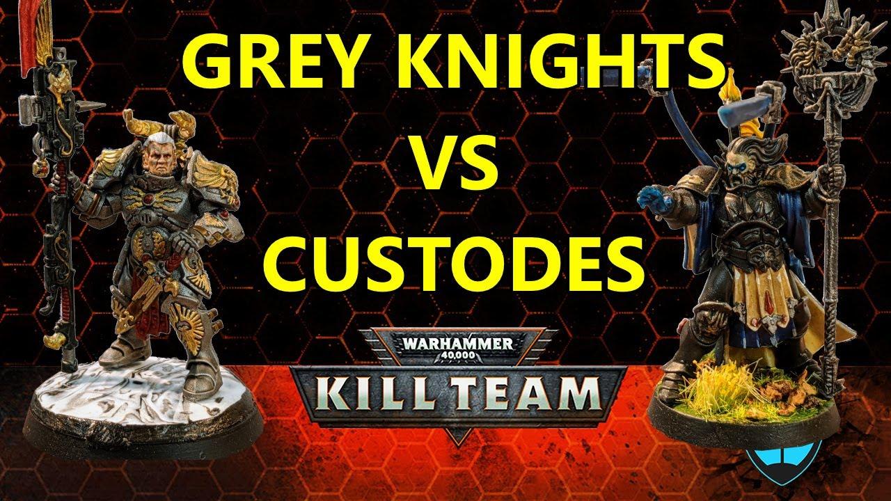 Custodes vs Grey Knights - Kill Team 125 points Batrep
