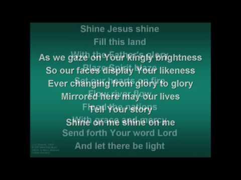 Shine Jesus Shine by Hillsong Worship with Lyrics
