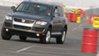 2009 VW Touareg TDI | Track Tested | Edmunds.com