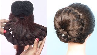 Latest party Hairstyle For Ladies N Girls   braided hairstyles   prom hairstyles    bridal hairstyle