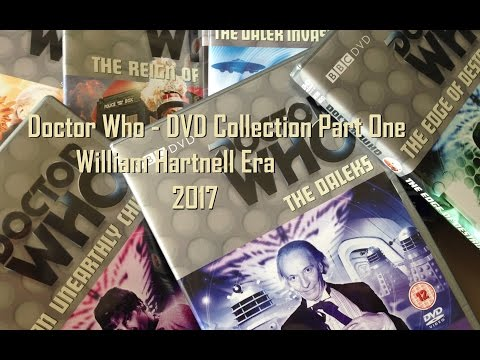 Doctor Who DVD Collection 2017 Review/Overview - Part One - William Hartnell - First Doctor