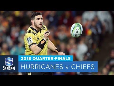 HIGHLIGHTS: 2018 Super Rugby Quarter-Finals: Hurricanes v Chiefs