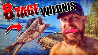 8 Tage Wildnis in SCHWEDEN #1 | Primitive Ausrüstung + Kajak | Bushcraft Survival | Fritz Meinecke