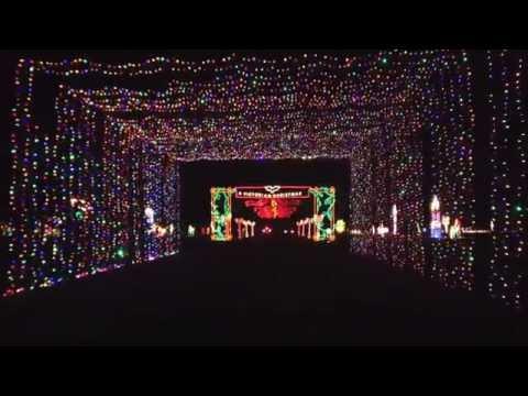 Grand prairie, Texas  Christmas light tunnel