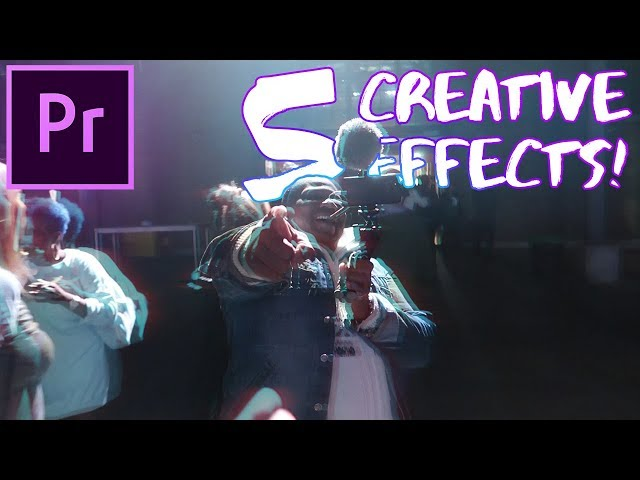 5 AWESOME Creative Video Effects in Adobe Premiere Pro! (CC 2017 How to / Tutorial)