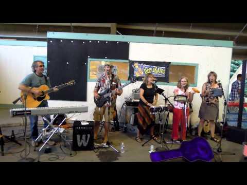Live music at the Farmers' Market, Bozeman, MT