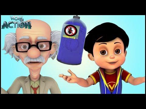 हिन्दी कहानियाँ | Vir: The Robot Boy | Hindi Cartoons for kids |Vir In Dadaji's Brain|WowKidz Action
