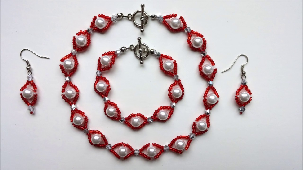 Jewelry Set Making Ideas How To Make Jewelry Given As