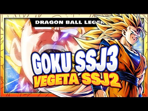 GOKU SSJ3 ET VEGETA SSJ2 DANS LES LEAKS DU V-JUMP ! DRAGON BALL LEGENDS FR
