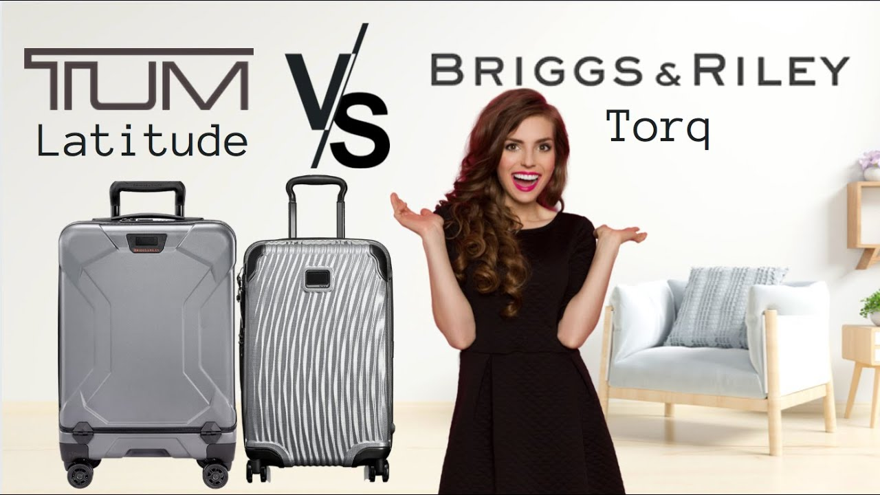 "Tumi - Latitude vs Briggs & Riley - Torq 22"" Carry-On 