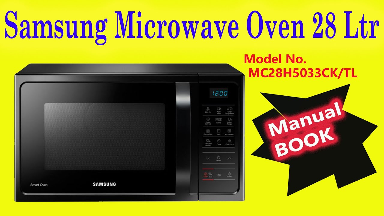 Samsung Microwave Oven 28 Ltr Manual