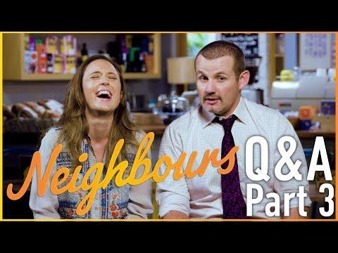Eve Morey (Sonya Rebecchi) and Ryan Moloney (Toadie Rebecchi) Q & A Part 3