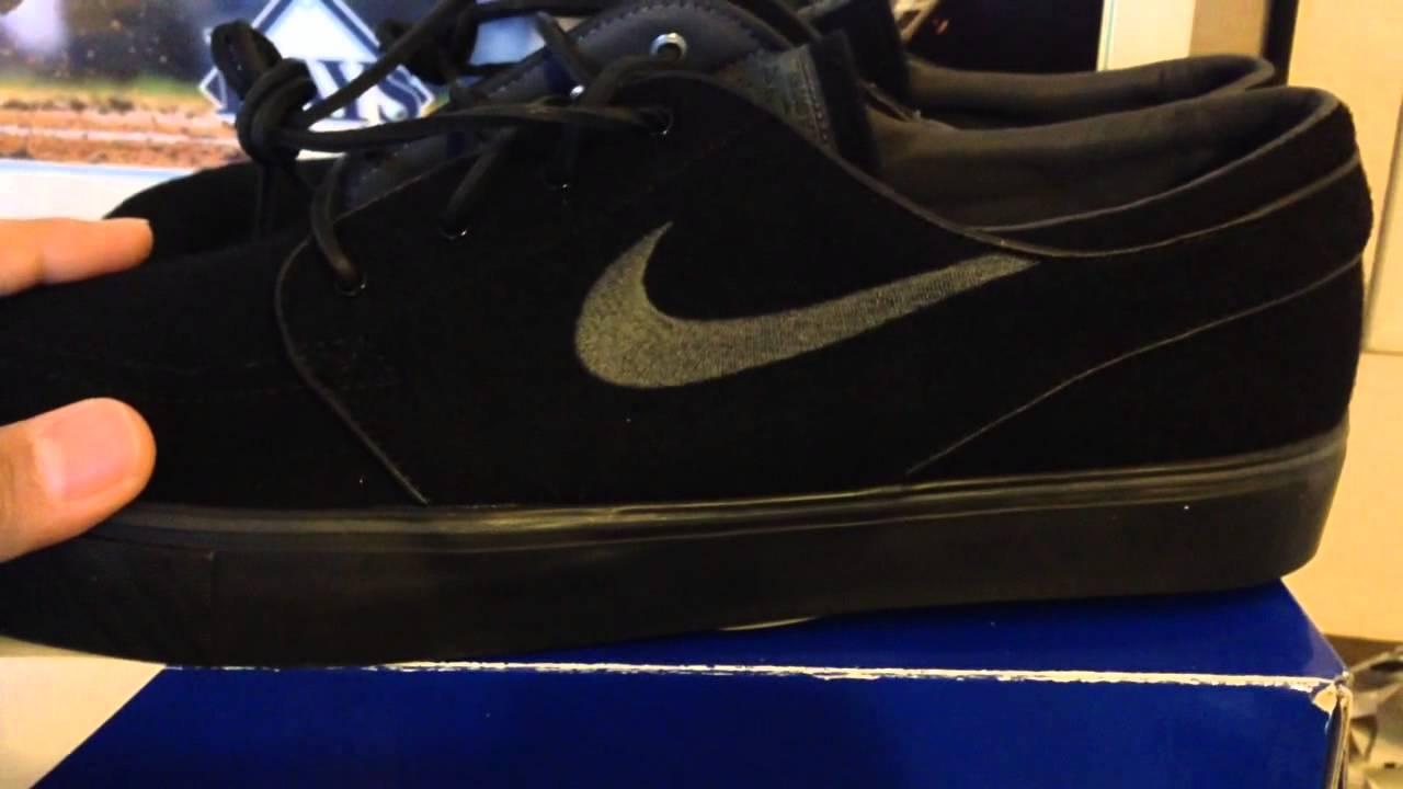 hot sale online de657 08573 Nike sb stefan jansoki black wool