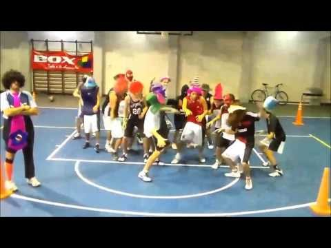 Harlem Shake- Chacarita Juniors Azul