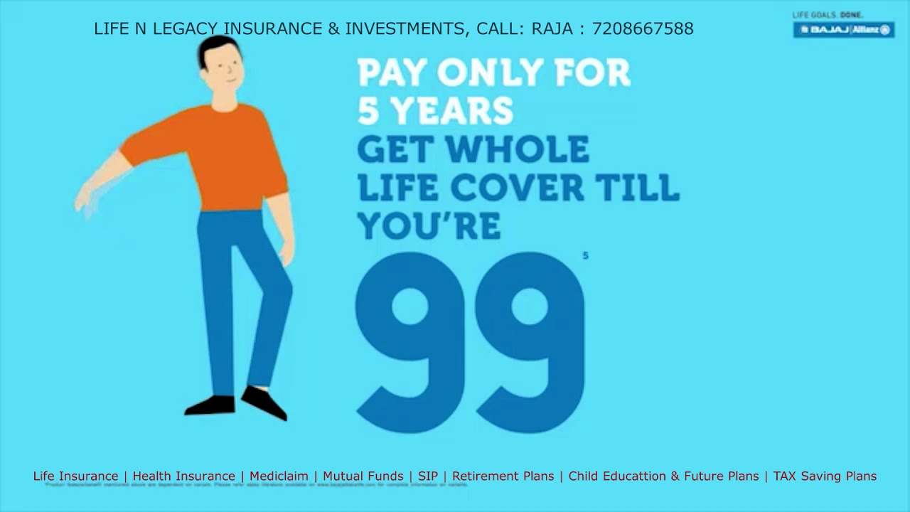 Mera Life Ka Back Up Plan - Bajaj Allianz New Term ...