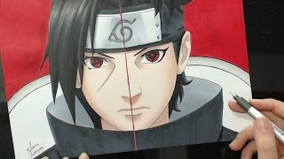 Speed Drawing - Itachi | Shisui (Naruto)