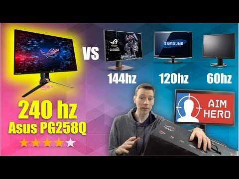 Asus PG258Q Review - Does 240hz Make It The Best Gaming Monitor? -