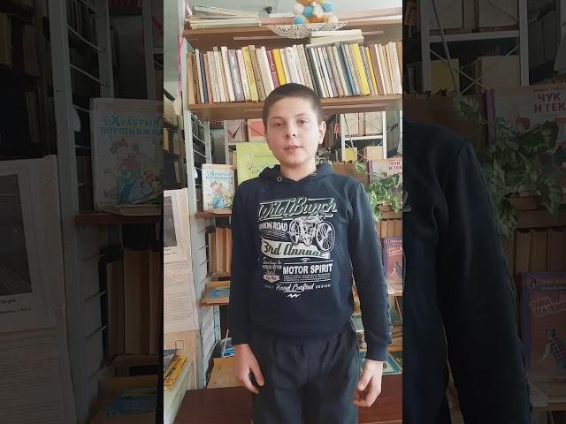Изображение предпросмотра прочтения – ВладиславКривых читает произведение «Берёза» С.А.Есенина