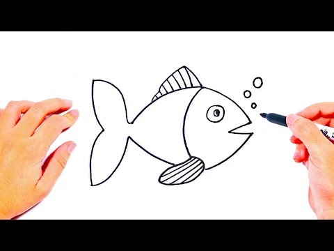 How To Draw A Fish Step By Step | Drawings Tutorials For Kids