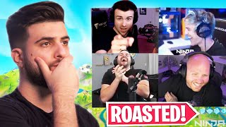 so I got ROASTED on Ninja's first YouTube stream...