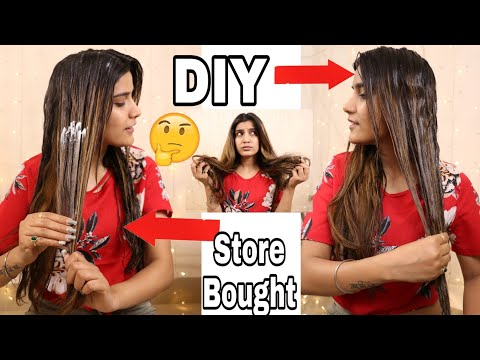 DIY : SUMMER HAIR MASK For Dry Damaged Hair, | How To Get Super Silky Smooth Hair | Super Style Tips