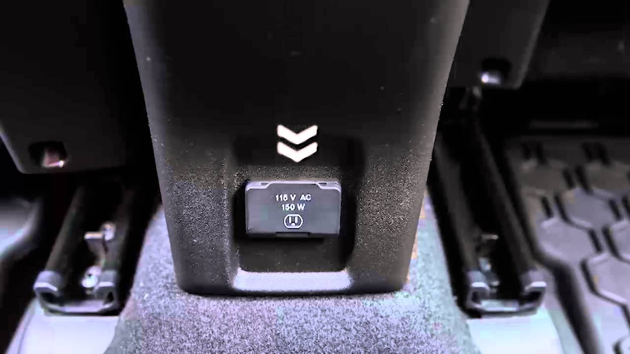 2016 Jeep Renegade   Electrical Power Outlets - YouTube
