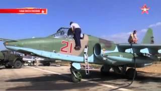Российские пилоты рисуют звезды на самолетах в Сирии  Новости России, Сирии