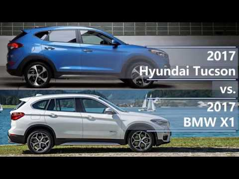 2017 hyundai tucson vs 2017 bmw x1 technical comparison. Black Bedroom Furniture Sets. Home Design Ideas