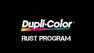 Dupli-Color® How to: Rust Program