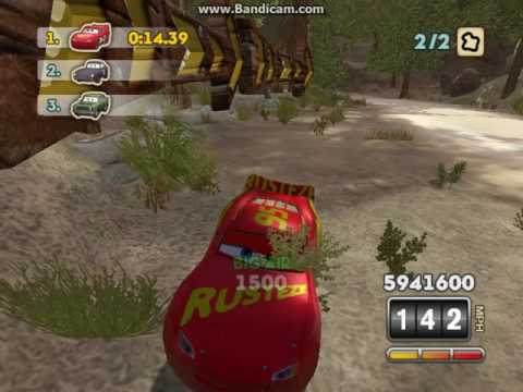 Cars: Mater-National: Cars 3 (Gold Rusteze) Lightning