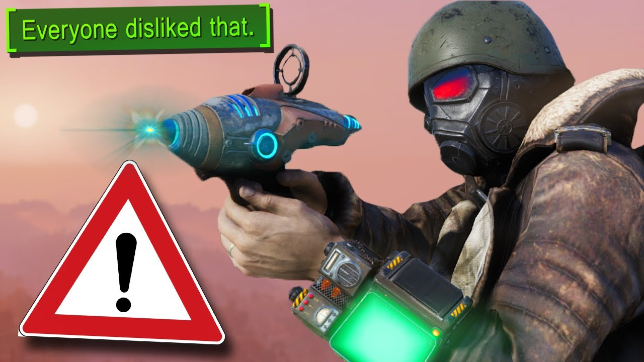 The illegal weapons of Fallout 76 thumbnail