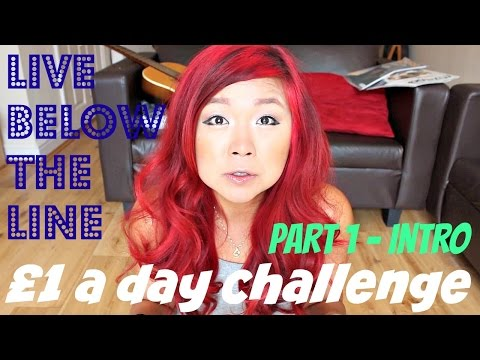 LIVING ON £1 A DAY AS A VEGAN (Live Below the Line pt.1 intro) ♥ Cheap Lazy Vegan