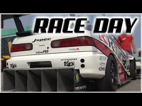 RACE DAY  TimeAttack TypeR