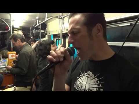 """Black Market Radio """"The Clash - London´s Burning / Hateful"""" Yalla Yalla  Augsburg Trambahn 2013"""