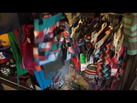 Costumi Donna Protest Board Sport - Hot Short per Surf Estate 2013 - Video