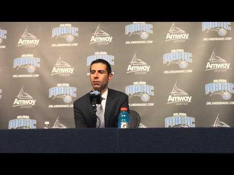 James Borrego Press Conference 2/8/15 vs Bulls