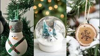DIY ROOM DECOR! 10 Christmas And Winter Room Decor | Simple & Easy crafts