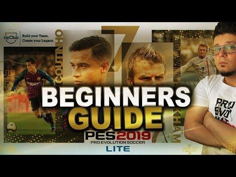 PES 2019  myClub Beginners guide