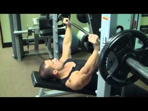 Upper Chest Press on The Smith Machine